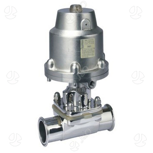 Stainless Steel Sanitary Pneumatic Clamp Diaphragm Valve with Ss Actuator
