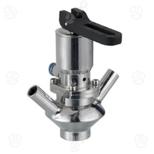 Hygienic Stainless Steel Manual And Pneumatic Aseptic Sampling Valve