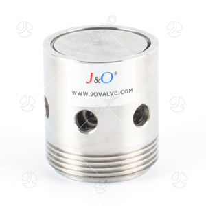 Sanitary Stainless Steel Male Pressure Vacuum Relief Valve