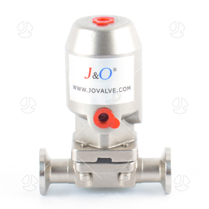 Sanitary Pneumatic Diaphragm Valve with Ss Actuator