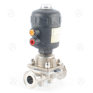 Stainless Steel Sanitary Pneumatic Aseptic Direct Diaphragm Valve
