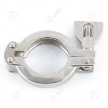Sanitary Stainless Steel 304 316L 13SF Pipe Clamp Tube Pipe Fittings